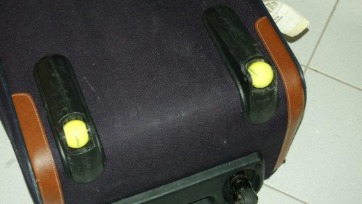 Neue Räder für alten Koffer – fast umsonst