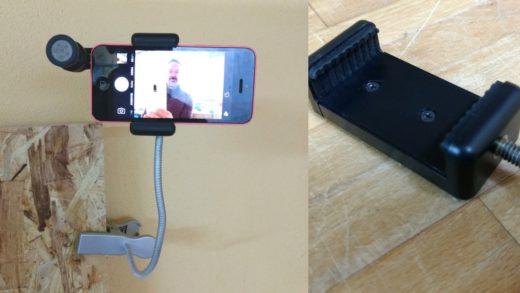 Smartphone als Kamera: Flexibler Halter